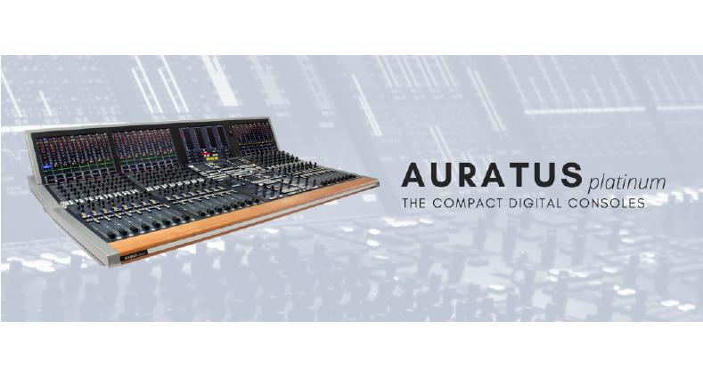 Auratus Platinum – Compact Digital Console