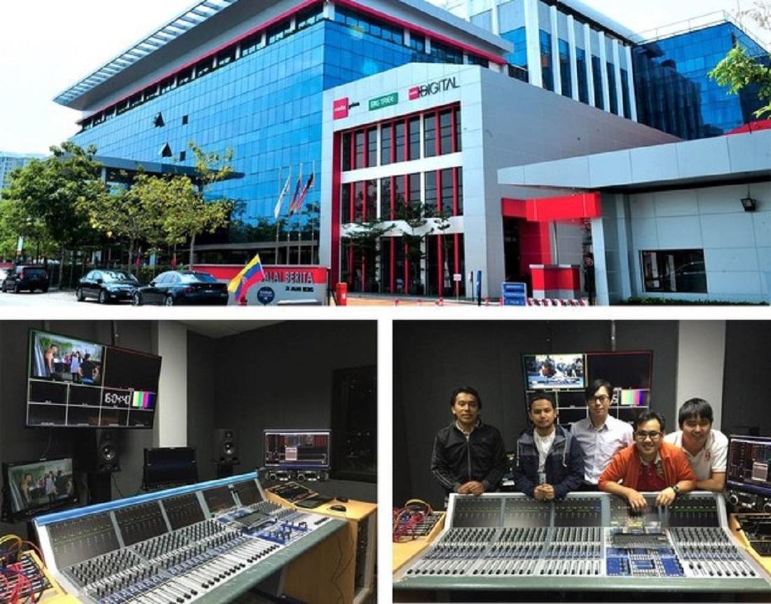 Media Prima chooses Stage Tec Crescendo audio consoles